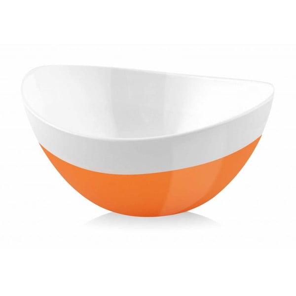 Misa Livio, 15 cm, oranžová
