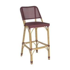 Barová stolička Allison Maroon