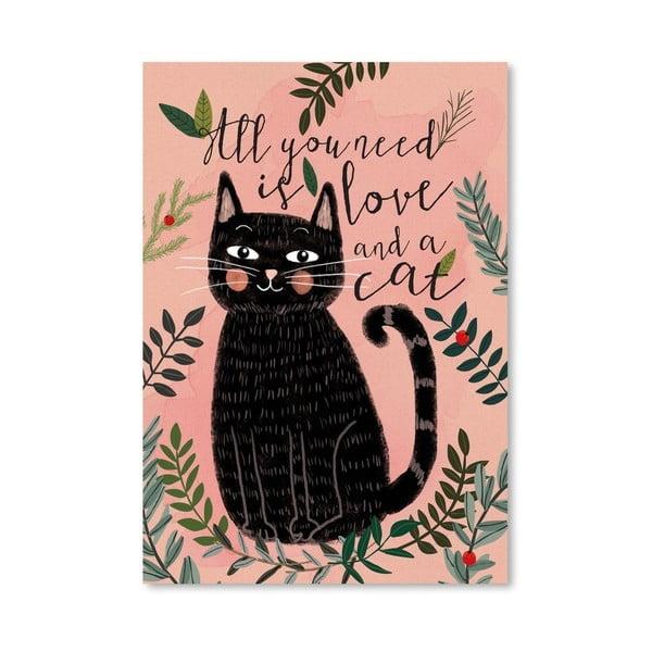 Plagát od Mia Charro - All You Need Cat