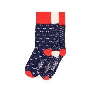 Sada 3 párov farebných ponožiek Funky Steps Bloom, veľ. 35-39