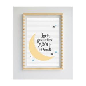 Obraz z limitovanej edície Little Nice Things Moon