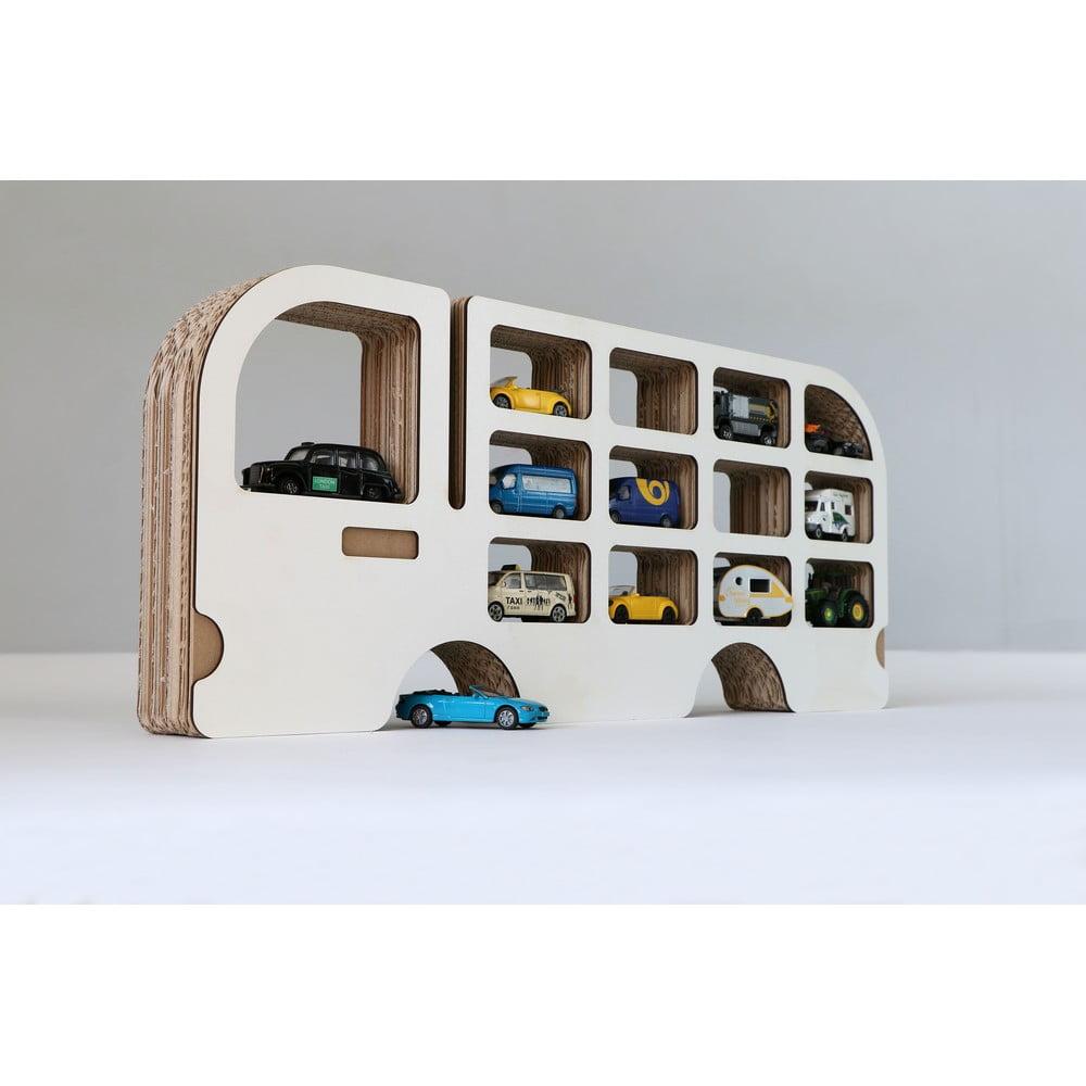 Polička Unlimited Design for kids Auto idúca doľava