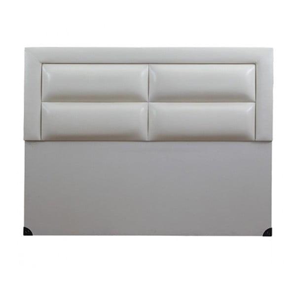 Čelo postele Comfort White, 120x160 cm