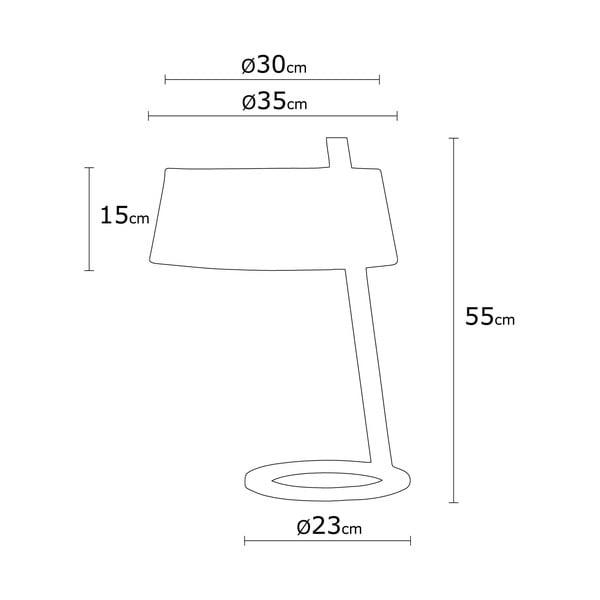 Béžová stolová lampa Way Surf