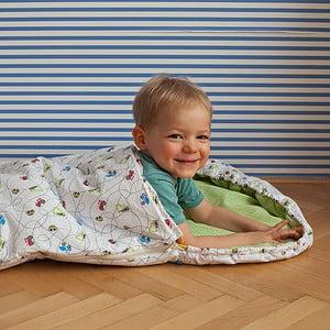 Detský spací vak Bartex Autíčka, 70×165 cm