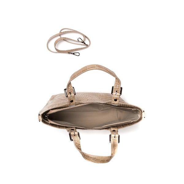 Kožená kabelka Renata Corsi 635 Fango