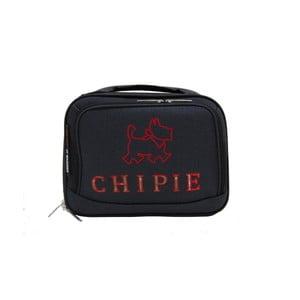 Čierny príručný kufor LULU CASTAGNETTE Chipie, 11 l