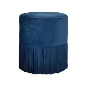 Modrá čalúnená stolička Native Mystique, ⌀38 cm