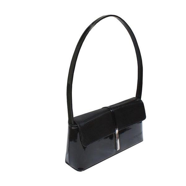 Kožená kabelka/listová kabelka  Boscollo Black 2392