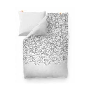 Bavlnená obliečka na perinu Blanc Silex, 140×200 cm