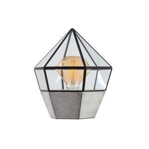 Drevená stolová lampa ETH Fame