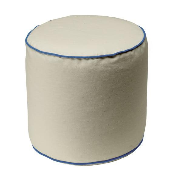 Béžový puf 13Casa Bicolor Cylindre