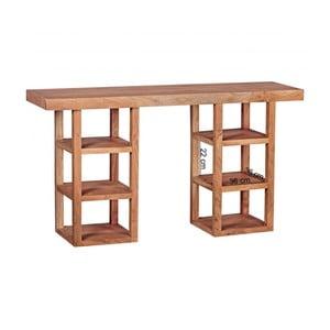 Konzolový stolík z masívneho akáciového dreva Skyport Jacinta