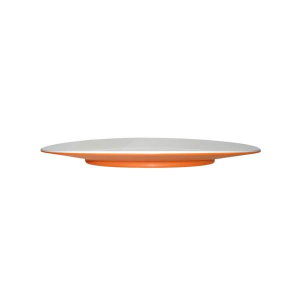 Oranžový dezertný tanier Entity, 21cm