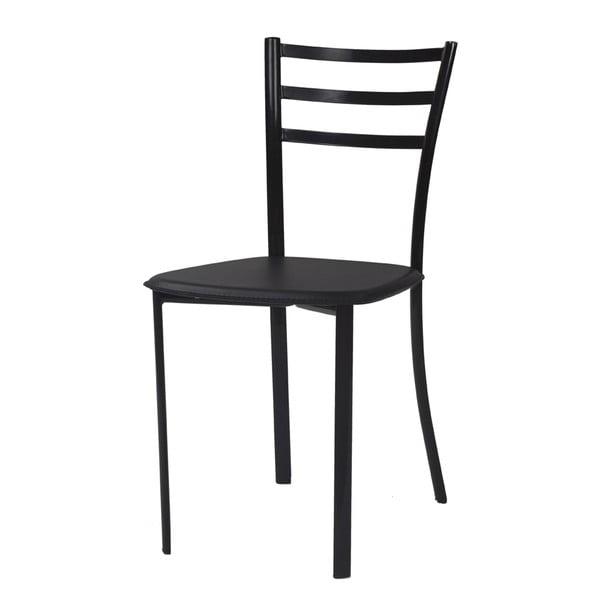 Jedálenská stolička Bibi, čierna