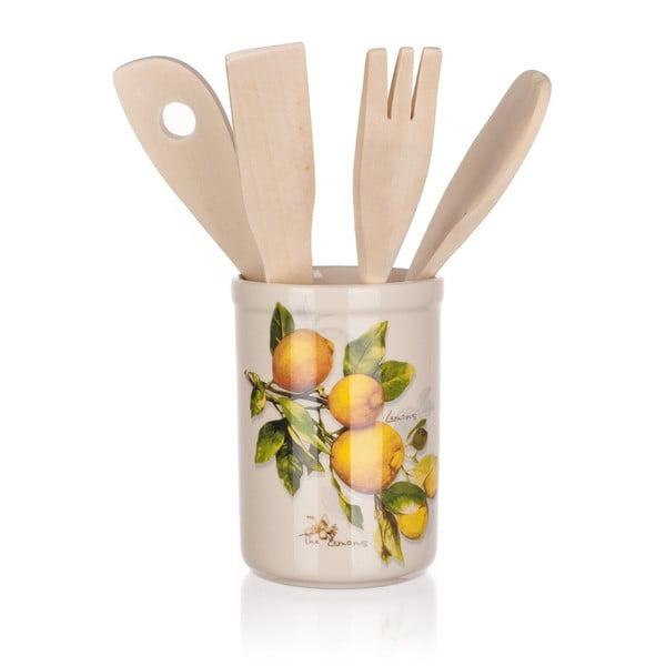 Sada kuchynského náradia Banquet Lemon, 5ks