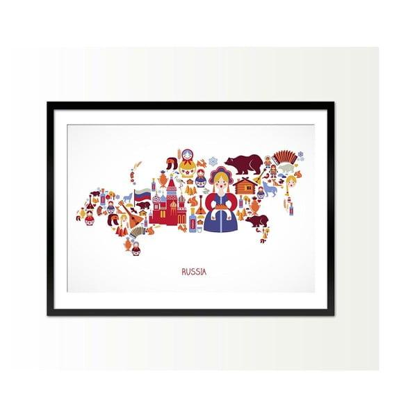 Zarámovaný obraz Russia, 50x70 cm