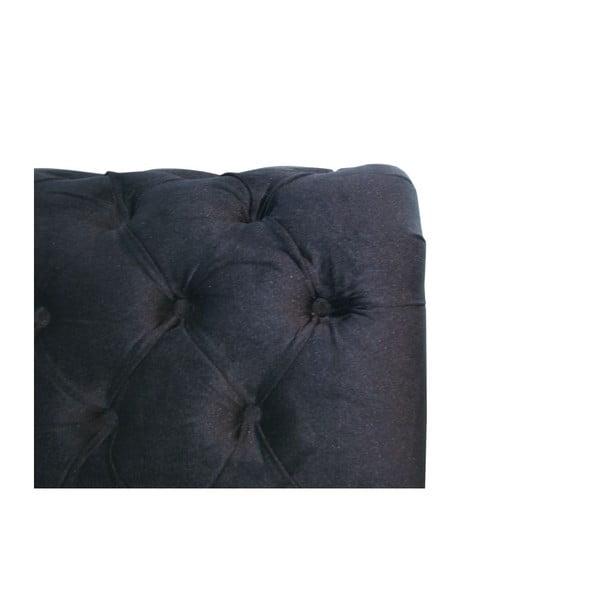 Posteľ Ontario Black, 160x200 cm