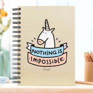 Zápisník Mr. Wonderful Nothing is impossible