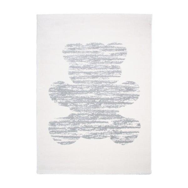 Detský krémový koberec Nattiot Teddy,120x170cm