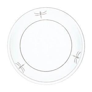 Sklenený tanier La Rochère Libellules, ⌀25cm