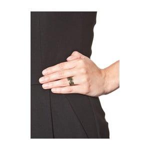 Dámsky prsteň v zlatej farbe NOMA Eveline