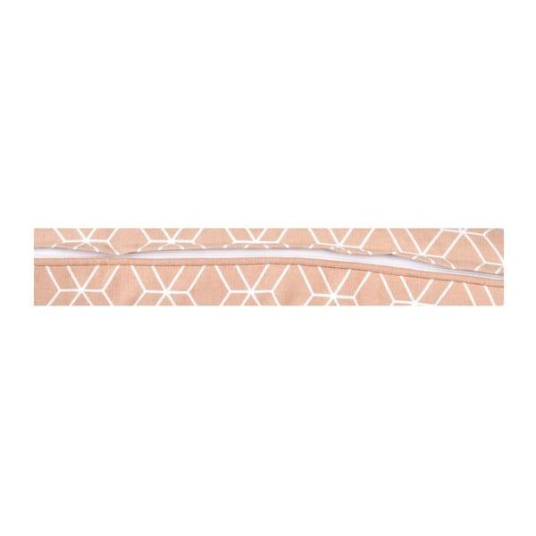 Vankúš Hexagon Dusty Pink, 45x45 cm