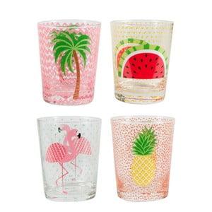Sada 4 pohárov Sass & Belle Tropical Summer