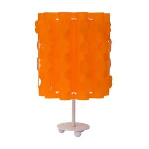 Oranžová stolová lampa Mauro Ferretti Cuori