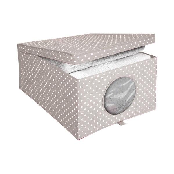 Úložný box na oblečenie Ordinett Camarque, veľ. M