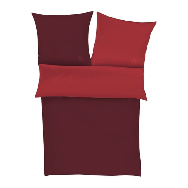 Obliečky Percale Royal Red, 140x200 cm