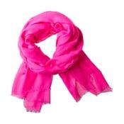 Šatka Poetry Grunge Neon Pink