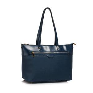 Tmavomodrá kabelka L&S Bags Grab