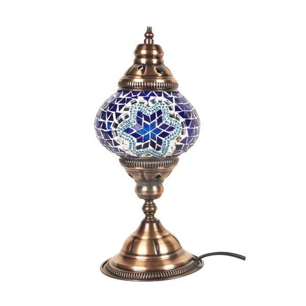 Sklenená ručne vyrobená lampa Fudžarja Moon, ⌀ 13 cm