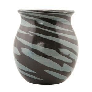 Váza Zebra Grey