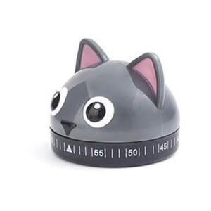 Minútka v tvare mačky Kikkerland