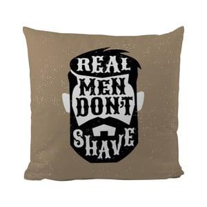 Vankúšik Black Shake Real Man, 50x50cm