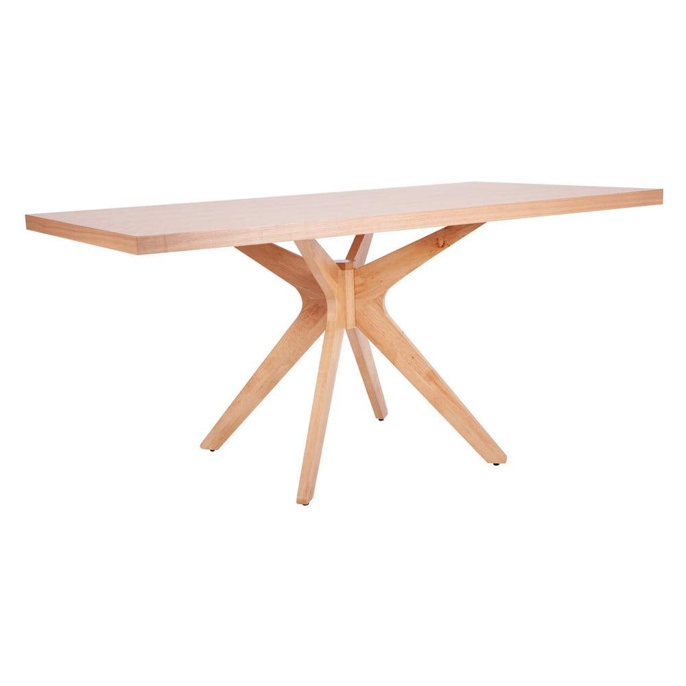 Svetlohnedý jedálenský stôl sømcasa Shela, dĺžka 160 m