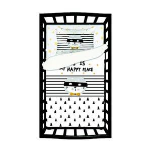 Detské bavlnené obliečky s plachtou na jednolôžko Apolena Mirra Callo, 100 x 150 cm
