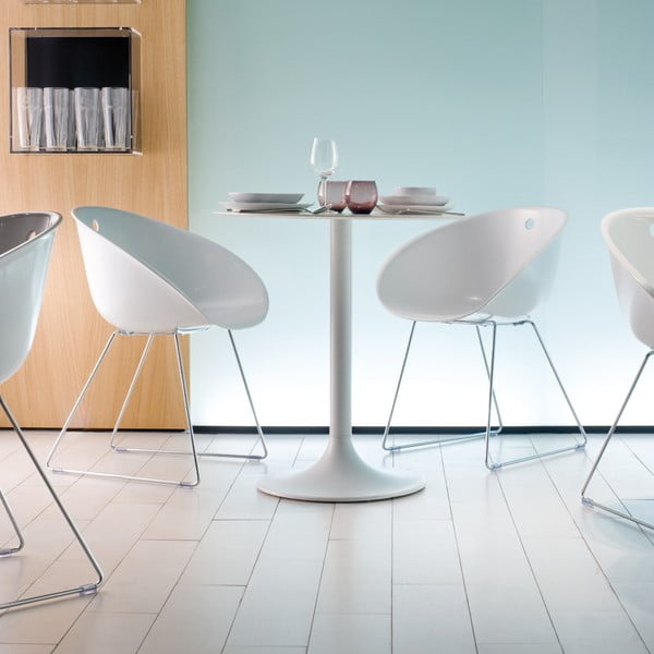 Béžová stolička Pedrali Gliss