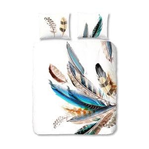 Bavlnené obliečky Müller Textiel Color Feather, 200x200 cm