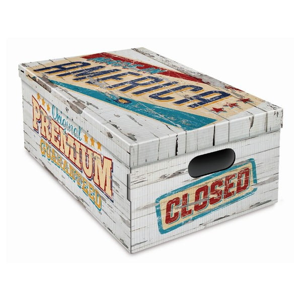 Úložná krabica Vintage 47x37,5x24cm