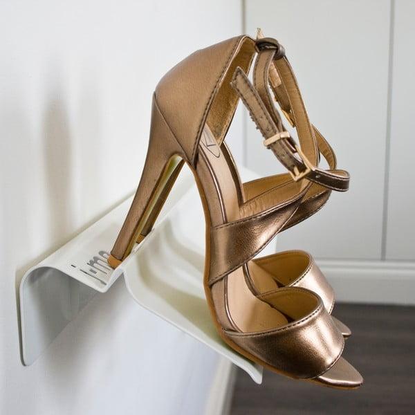 Polica na topánky J-ME Stiletto 70 cm, biela