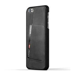 Peňaženkový obal Mujjo na telefon iPhone 6 Plus Black