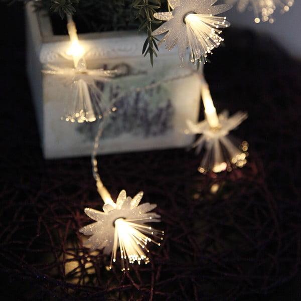 Svetelná reťaz Best Season Flowers, 135 cm