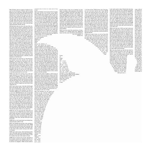 Knižný plagát Genesis, 50x70 cm