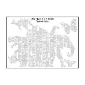 Knižný plagát Bájky i nebájky, 70x50 cm