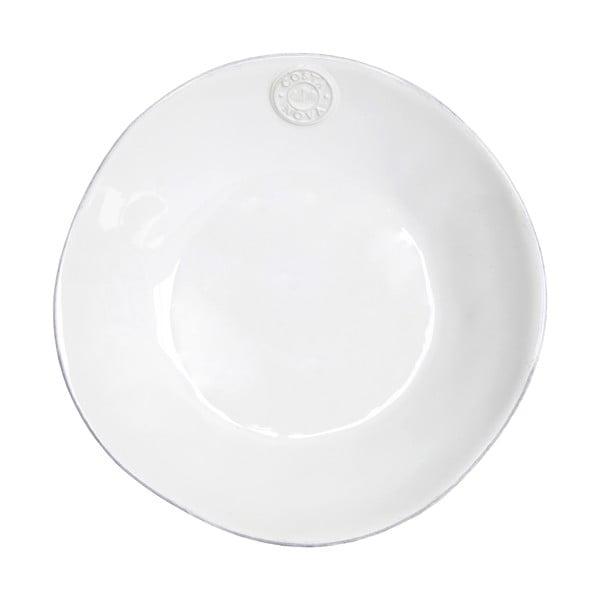 Biely keramický polievkový tanier Ego Dekor Nova, Ø25cm