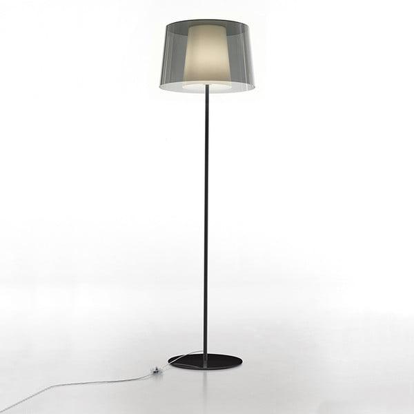 Stojacia lampa Pedrali L001ST/BA, dymovo transparentná