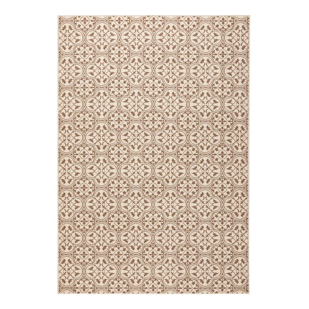 Béžový koberec Hanse Home Gloria Pattern, 80 x 150 cm